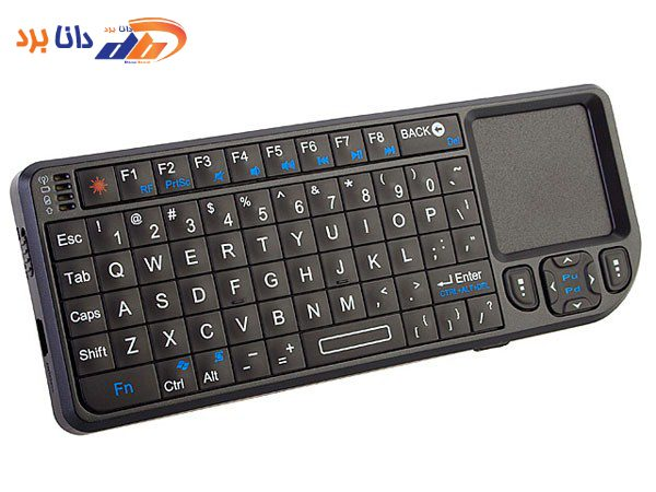 پرزنتر بیسیم مدل Rii-Mini-Wireless-Keyboard